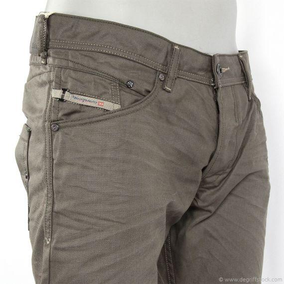 jeans marron homme diesel belther 0816n d griff 39 stock. Black Bedroom Furniture Sets. Home Design Ideas