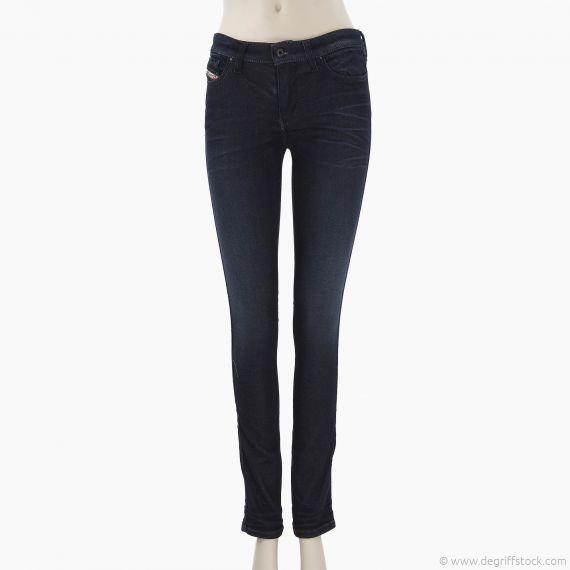 Jeans bleu brut femme Diesel SKINZEE 0834S