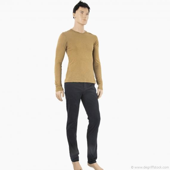 pantalon chino noir homme diemas red soul d griff 39 stock. Black Bedroom Furniture Sets. Home Design Ideas