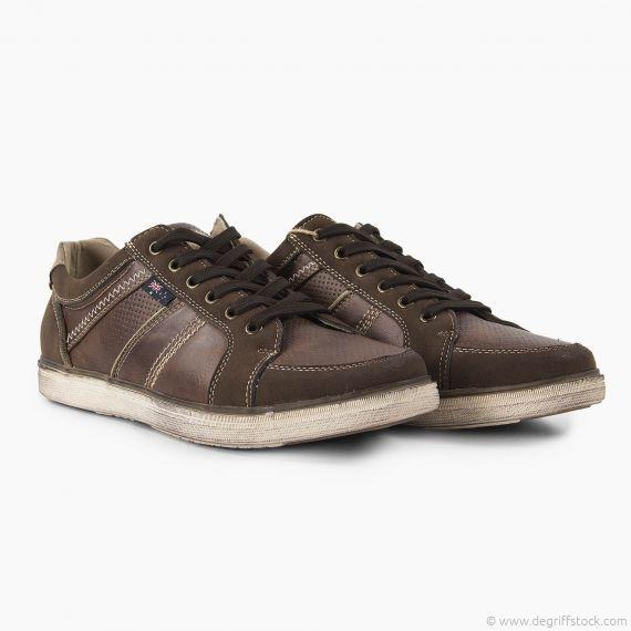 Baskets marron homme Norfolk Roadsign