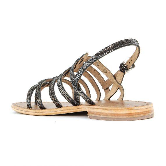 sandales noires dor es femme hercris les trop ziennes. Black Bedroom Furniture Sets. Home Design Ideas