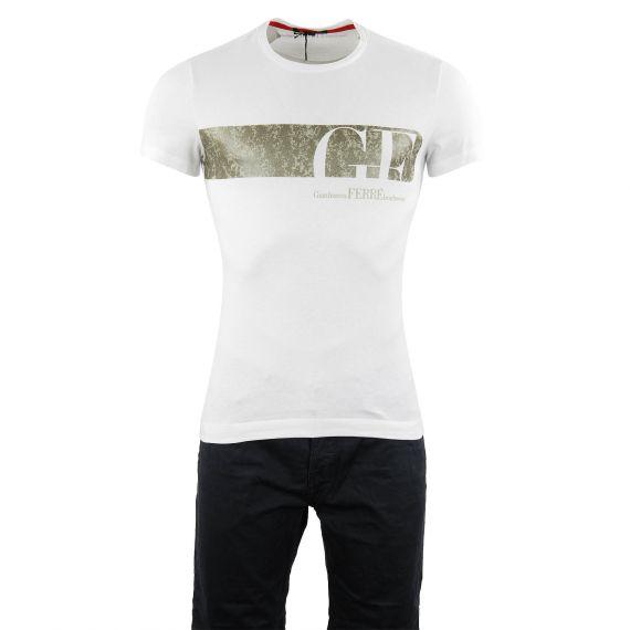 T-shirt blanc homme Gianfranco Ferré