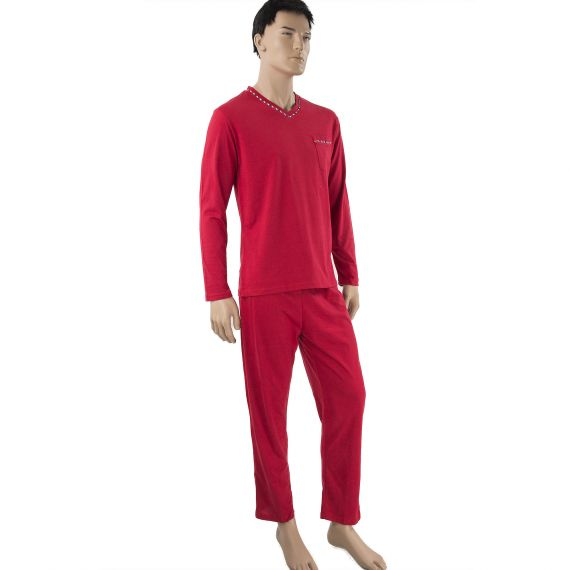 Pyjama rouge homme Ted Lapidus