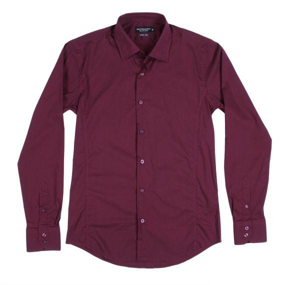 chemise bordeaux homme best mountain d griff 39 stock. Black Bedroom Furniture Sets. Home Design Ideas