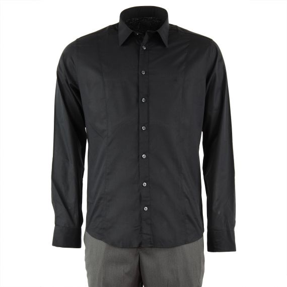 Chemise noire homme Calvin Klein