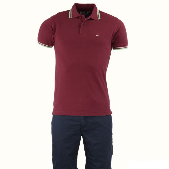 polo bordeaux homme crossby d griff 39 stock