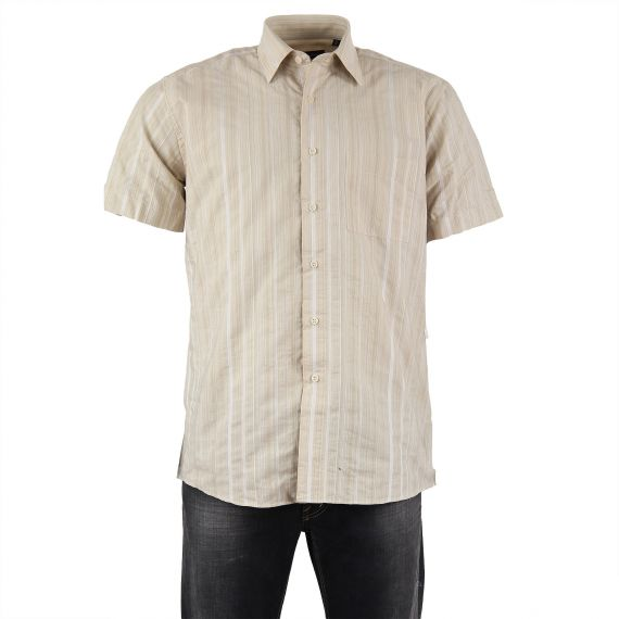 Chemise beige homme Pierre Clarence