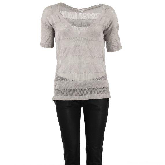 T-shirt pull gris femme so soon
