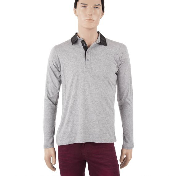Polo gris homme ROCK Best Mountain