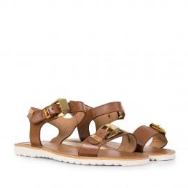 Sandales marron femme BLOW Les Tropéziennes