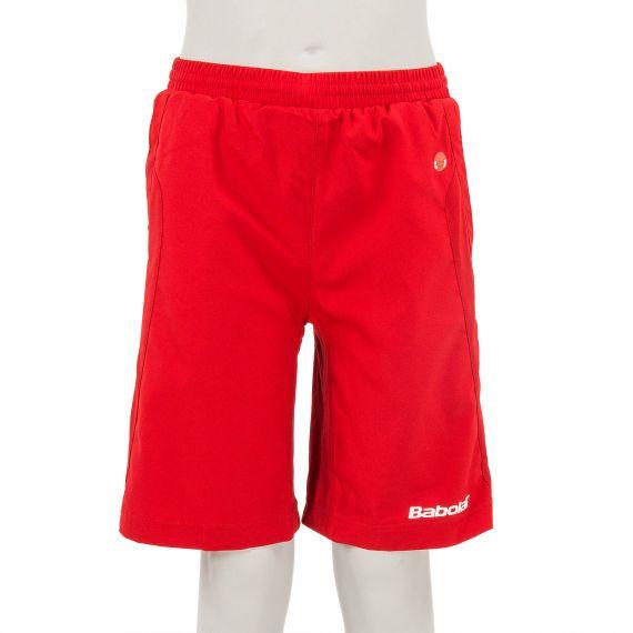Short de tennis rouge garçon Babolat