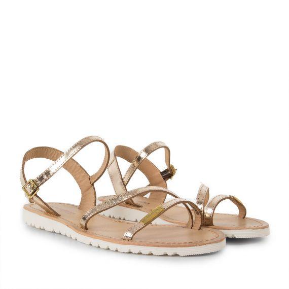 sandales dor es femme blush les trop ziennes d griff 39 stock. Black Bedroom Furniture Sets. Home Design Ideas