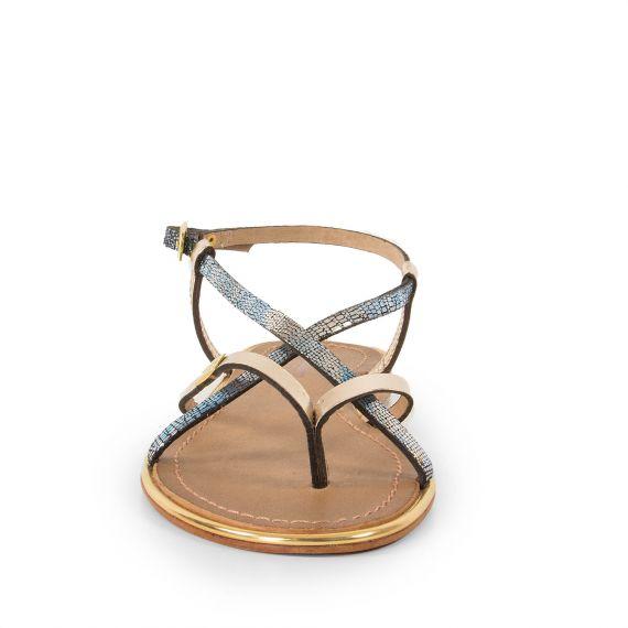 sandales dor es femme monaco les trop ziennes d griff 39 stock. Black Bedroom Furniture Sets. Home Design Ideas