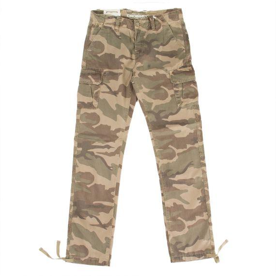 pantalon en toile camouflage homme fellow crossby d griff 39 stock. Black Bedroom Furniture Sets. Home Design Ideas