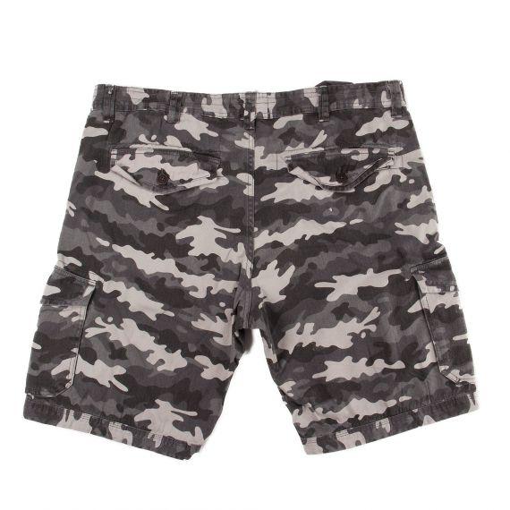 bermuda gris homme camouflage rms26 d griff 39 stock. Black Bedroom Furniture Sets. Home Design Ideas