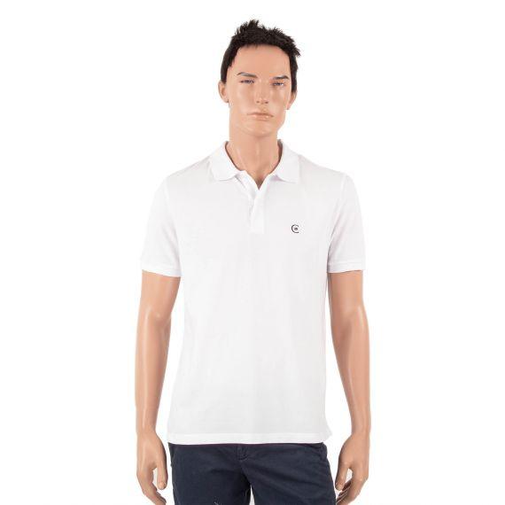 Polo blanc homme 18crr81 Cerruti