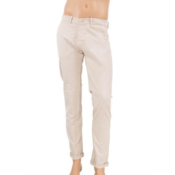 Pantalon chino beige homme BAKER Malkovich