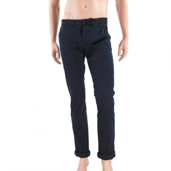 Pantalon chino bleu nuit homme BAKER Malkovich