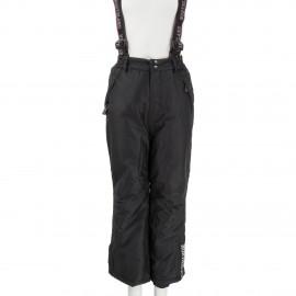 Pantalon de ski noir enfant XYLO Northland